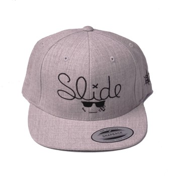 Chillgreen - Casquette Snapback Slide - gris chine - 1874859