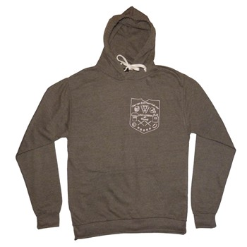 Chillgreen - Sweat à capuche coton Full Heart - gris chine - 1874880