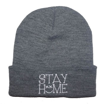 Chillgreen - Bonnet Beanie Stay Home - gris chine - 1874910