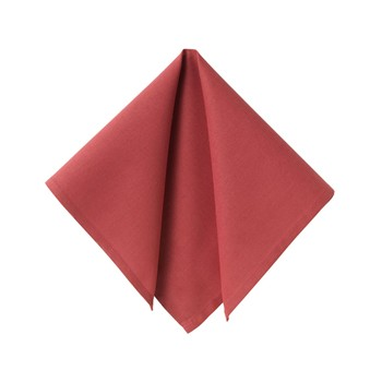 Becquet - Lot de 6 serviettes de table - framboise - 1877937