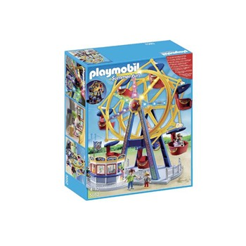 Playmobil - Summer fun - Grande roue avec illuminations - multicolore - 1882499