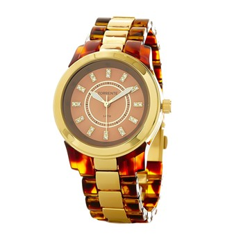 Torrente - In Touch - Reloj con pulsera de resina - marrón