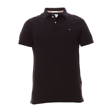 Hilfiger Denim - Original flag - Polo - noir - 1817582