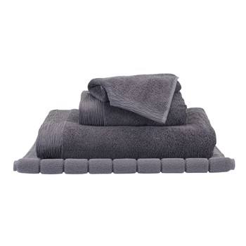 Simplement chic - Serviette de bain - anthracite