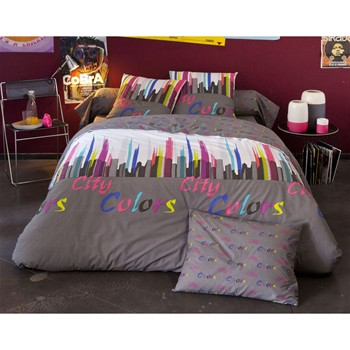 Becquet - Housse de couette city colors - multicolore - 1892743