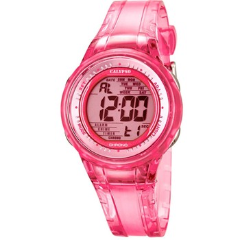 Montre digitale - rouge