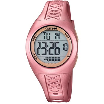 K5668-4 - Montre digitale - rose