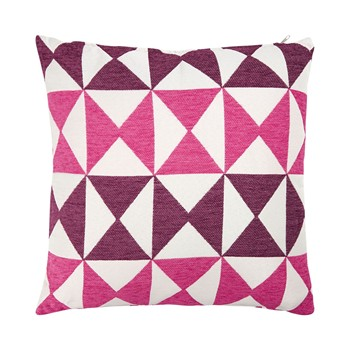 Ifilhome - Coussin déhoussable - rose - 1900601