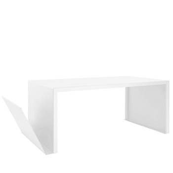 SPIRIX - Table basse - Blanc cassé