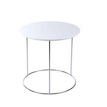 Luna - Table de chevet Luna - blanc
