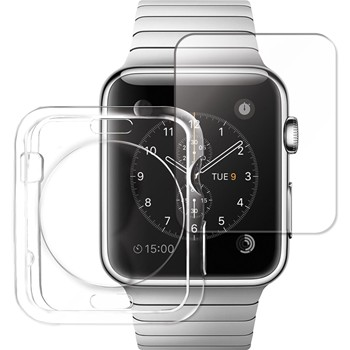 The Kase - Clarity - Coque et protection écran pour Apple watch - transparent - 1938176