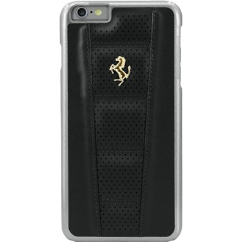 The Kase - Ferrari Perforated - Coque en cuir pour iPhone 6 Plus et 6S Plus - noir - 1938179