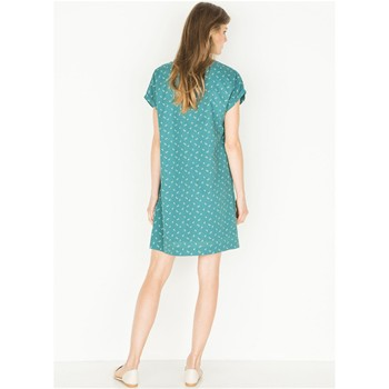 Somewhere - Robe forme housse - bleu canard