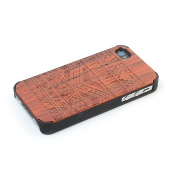 Woodstache - Navajo - Coque pour iPhone 4/4S - rouille - 1940507