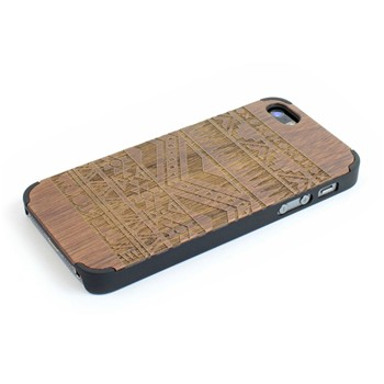 Woodstache - Navajo - Coque pour iPhone 5/5S - marron - 1940526
