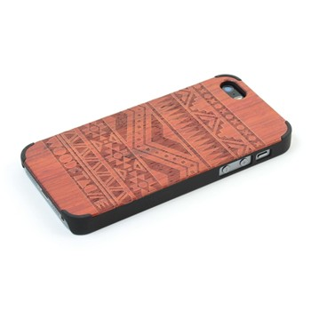 Woodstache - Navajo - Coque pour iPhone 5/5S - rouille - 1940527