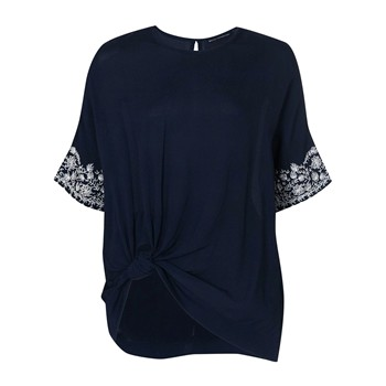 French Connection - Jasmine - Blusa - azul marino