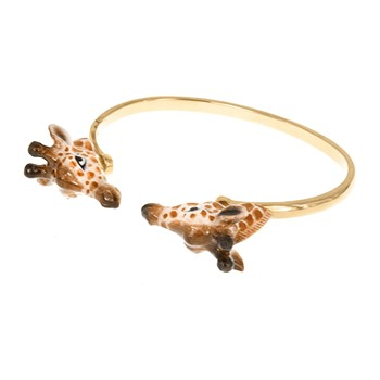 Face to face girafe - Bracelets - orange