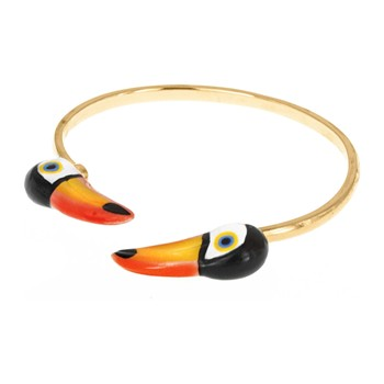 Nach - Face to face toucan - Bracciale - bicolore