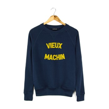 French Disorder - Sweat Vieux Machin - Sweat polaire - bleu marine - 1951535