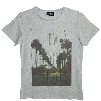 Frenchcool - French Street - T-shirt en coton col rond - 1686744