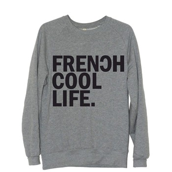 Frenchcool - Frenchcool Life - Sweat en coton - gris - 1686769