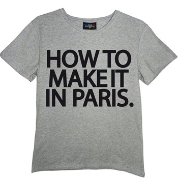 Frenchcool - How to make it in Paris - T-shirt en coton col rond - 1686965