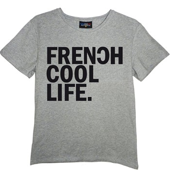 Frenchcool - Life - T-shirt en coton col rond - 1686970