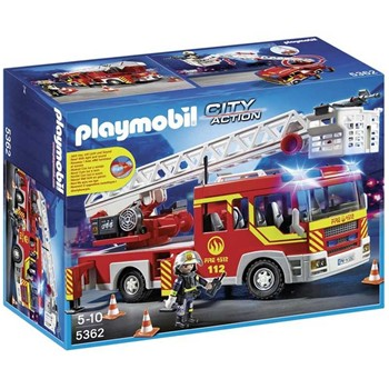 Playmobil - Coffret pompier - multicolore - 1960087