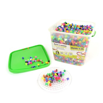 Wonderkids - Baril de recharge de 5000 perles - multicolore - 1960437