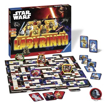 Ravensburger - Labyrinthe Star Wars - multicolore - 1960604