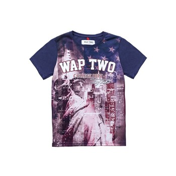Wap Two - Liberty - T-shirt - bleu marine - 1964014