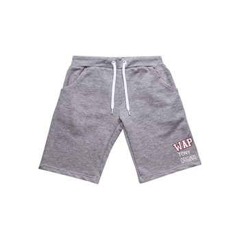 Navy - Short - gris chine