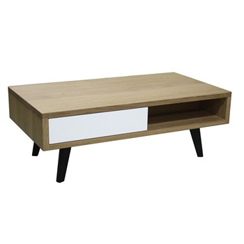 Table basse style scandinave - marron