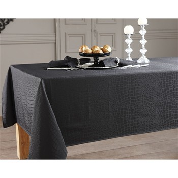 Becquet - Lot de 3 serviettes de table - noir - 1971118