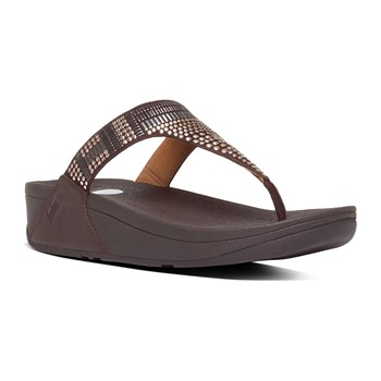 FitFlop - Aztec chada - Tongs - marron - 1962853