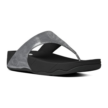 FitFlop - Lulu shimmer - Tongs - gris - 1962872