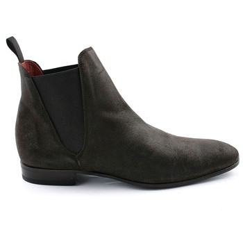 Exclusif Paris - Zoom - Boots en cuir - marron - 1978965