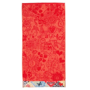 Desigual Home - Jacquard Bolimania - Drap de plage - orange