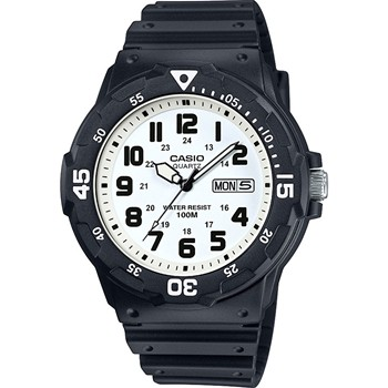 Casio - Casio Collection - Montre bracelet en silicone - noir