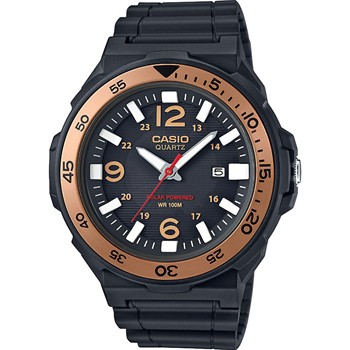 Casio Collection - Montre bracelet en silicone - noir