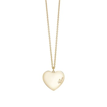 Guess - Heartbeat - Collier en plaqué or jaune - or - 1989399