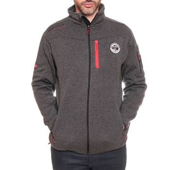 Geographical Norway - Upstone - Sweat polaire - gris foncé - 1991482