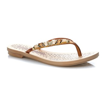 JEWEL THONG - Chanclas - dorado