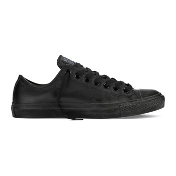 Chuck Taylor All Star Ox - Tennis en cuir - noir