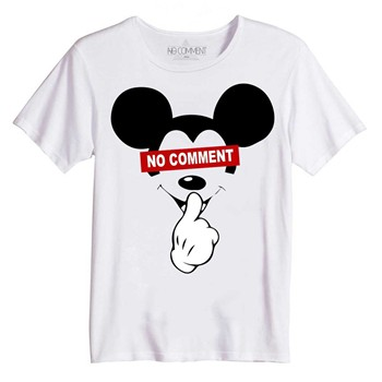 Mickey - T-shirt manches courtes - blanc