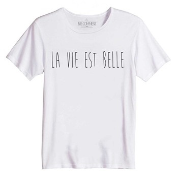 No Comment Paris - La vie est belle - T-shirt - blanc - 2000554
