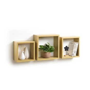 Modul'Home - 3 Cubes gigognes - naturel - 1992907