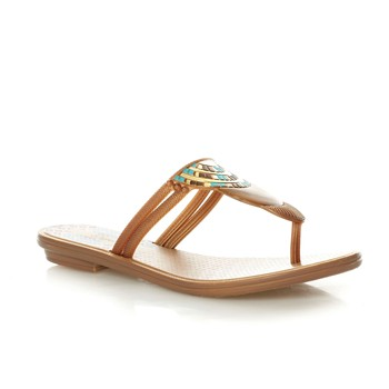 Tribal Thong - Chanclas - dorado