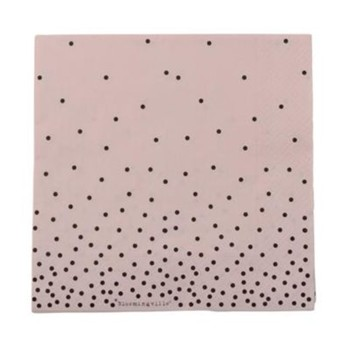 Bloomingville - Serviette en papier - blush - 2005792